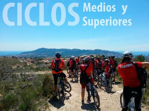 Ciclos Formativos grado medio superior Colegio Internacional Lope de Vega