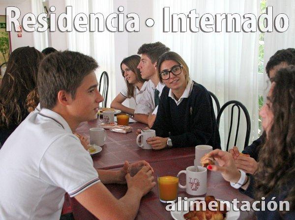 internado alimentacion comedor en colegio internaciona Lope de Vega