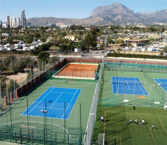 pistas-tenis Colegio Lope de Vega