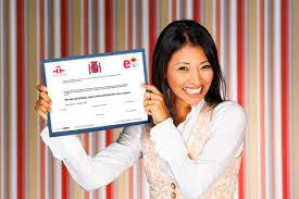 Dele certificate