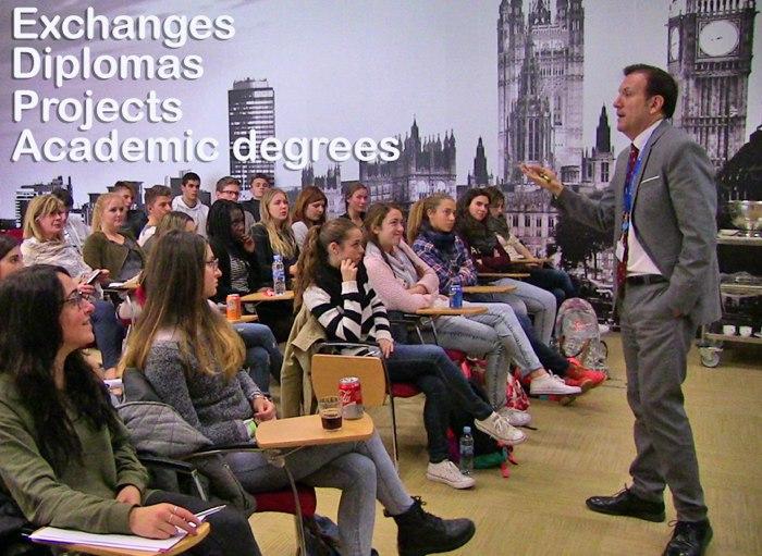 proyecto internacional en el Colegio Lope de Vega