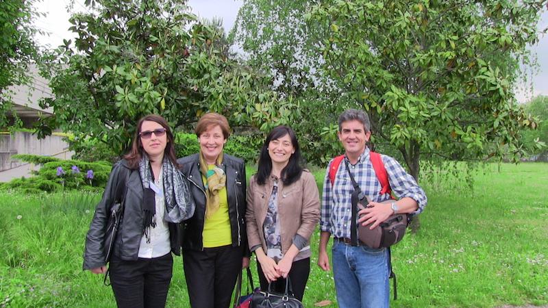 Algunos profesores coordinadores proyecto Y.E.S