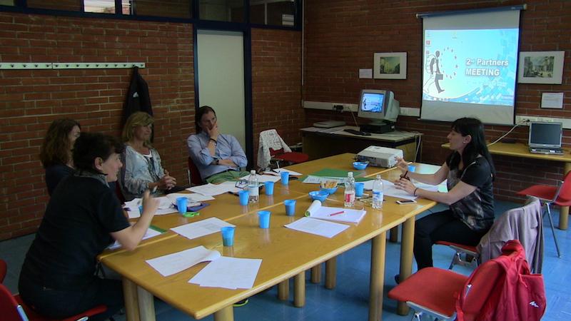 Profesores coordinadores países asociados durante la 2nd Mobility Meeting, Milán