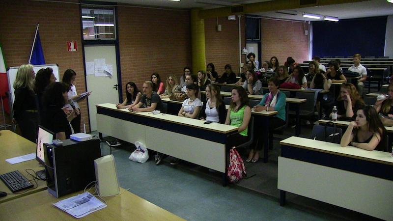 Entrega de diplomas, 2nd Mobility Meeting, Milán