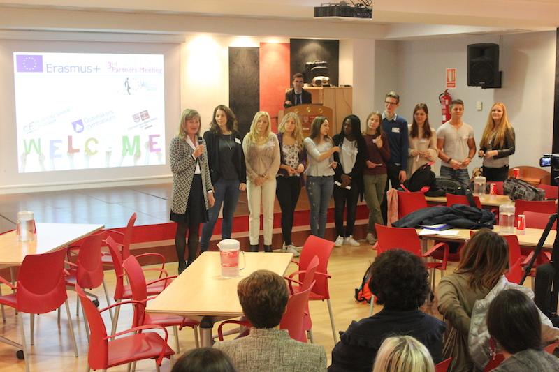 Presentación delegaciones países asociados, 3rd Mobility Meeting, Spain