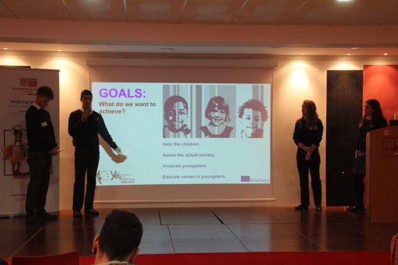 Presentación alumnos. 3rd Mobility Meeting, Spain
