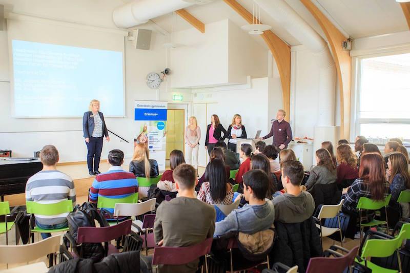 Bienvenida, 4th Mobility Meeting, Sweden