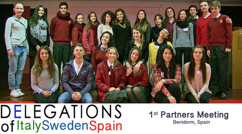 Delegaciones países asociados proyecto Y.E.S