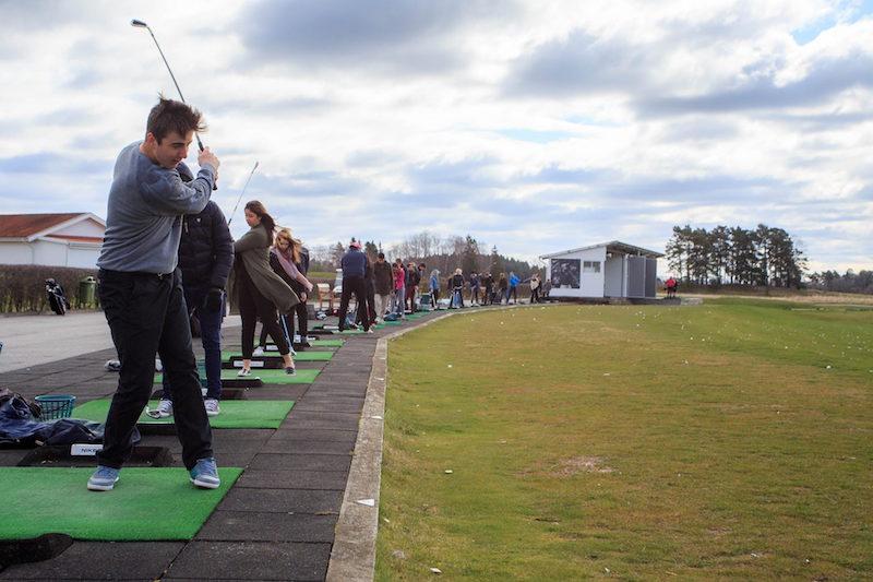 Curso de golf para alumnos proyecto Y.E.S. 4th Mobility Meeting, Sweden