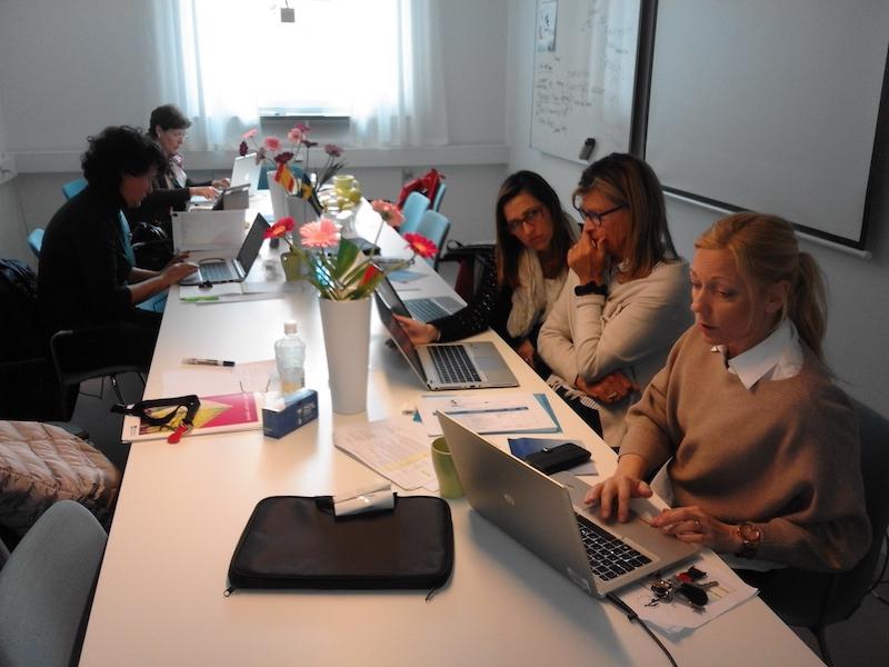 Profesores coordinadores durante 4th Mobility Meeting, Sweden