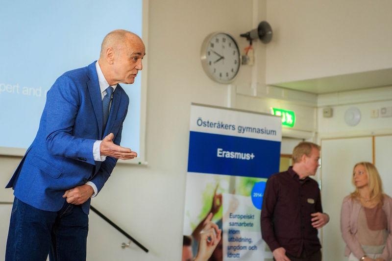 Día presentaciones finales trabajos ,4th Mobility Meeting, Sweden