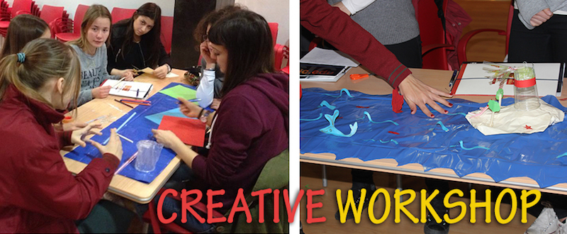 Creative Workshop. 1st Mobility Meeting, Spain