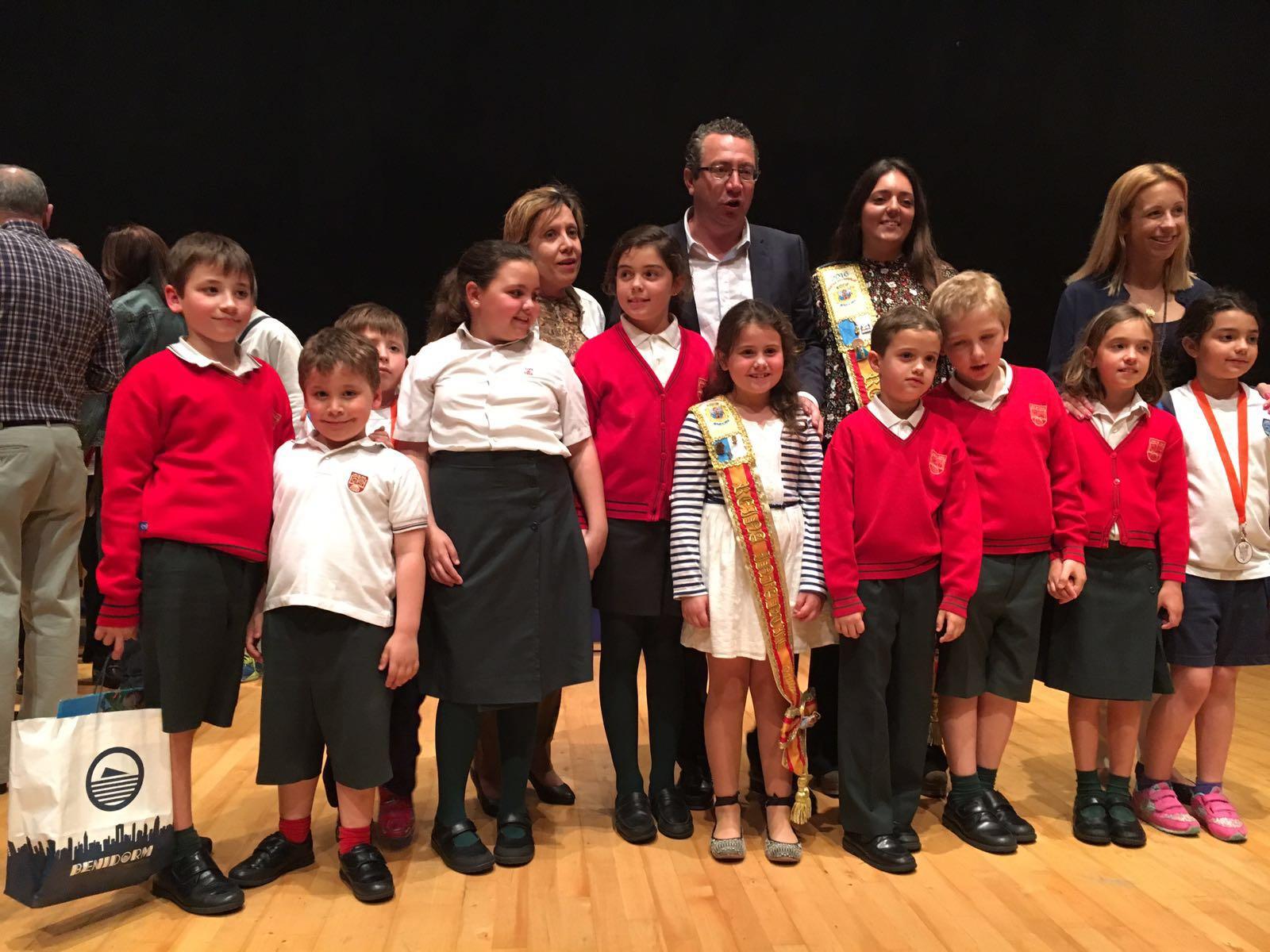 El Lope de Vega ganó el premio a la participación en el Certamen de Dibujo de la Barqueta