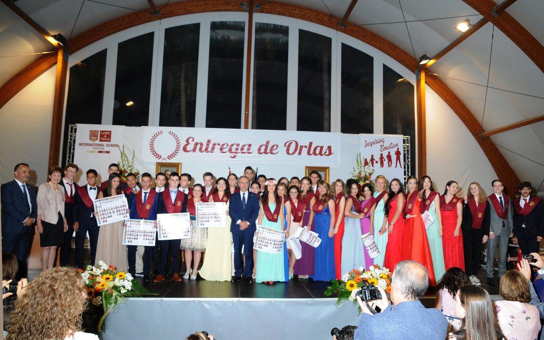 Emotiva Ceremonia de Entrega de Orlas a los alumnos de Bachillerato y Ciclos