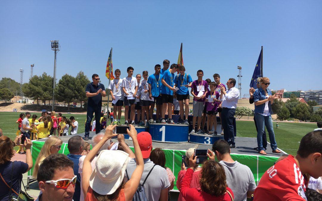 7 Oros, 5 platas y 5 bronces en las Olimpiadas Escolares