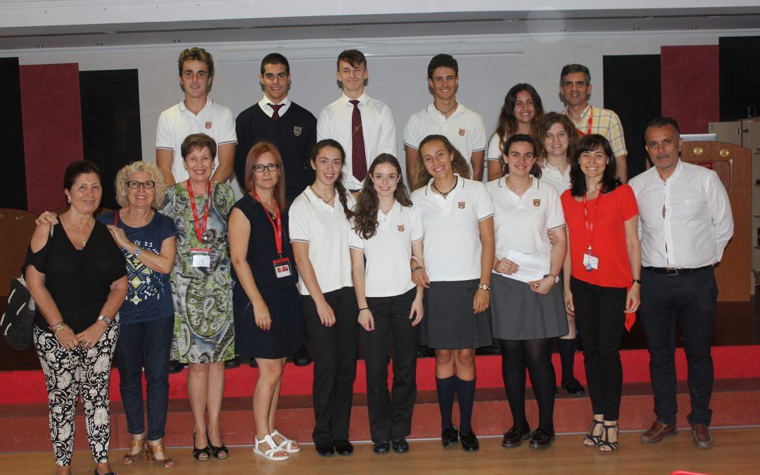 Los alumnos presentan la empresa que ellos mismos han creado dentro del proyecto Erasmus +