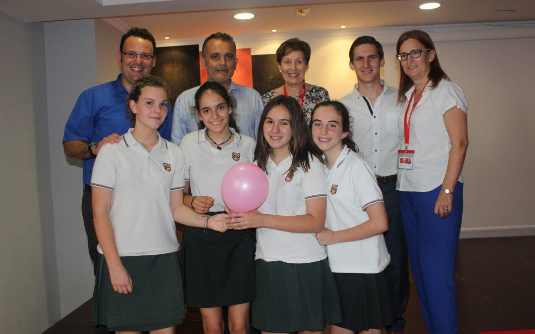 El equipo formado por alumnas de 2º de ESO gana el I Torneo de Debate Lope de Vega