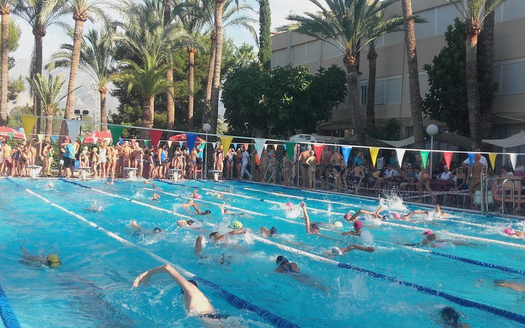 Gran jornada deportiva en el XVII Memorial de Natación Juan Fuster Zaragoza