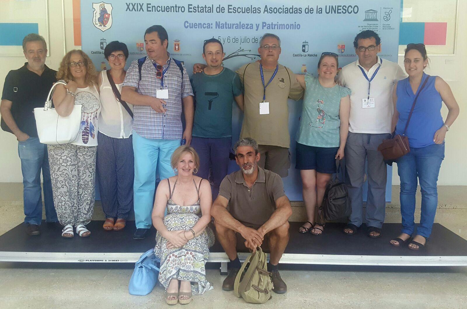 Nuestro Colegio participa en el XXIX Encuentro estatal de Escuelas UNESCO