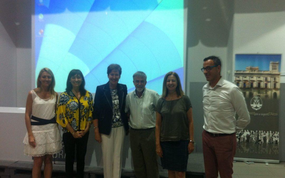 Mostrando nuestro Proyecto Educativo en el V Encuentro de Innovación