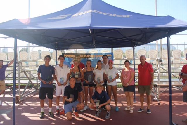 """Gran éxito del tenis español en el Torneo internacional """"Juan Fuster Zaragoza"""""""