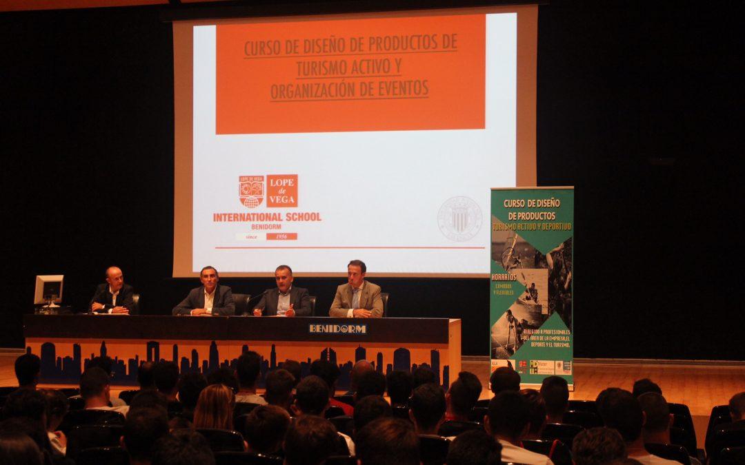 El Colegio Internacional Lope de Vega y la UPV lanzan un curso de especialización en turismo deportivo