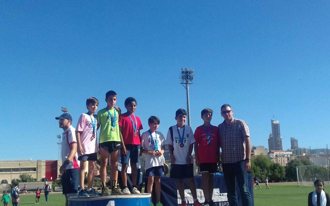 16 alumnos participaron en el Cross Escolar de Benidorm