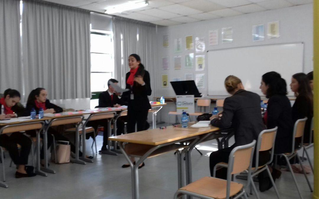 Nuestros alumnos en la I Liga Nacional de Debate organizada por CICAE