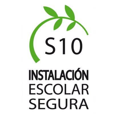 Estamos certificados como instalación escolar segura S10