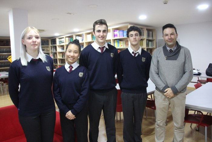 4 alumnos de Bachillerato, seleccionados para formar parte del Modelo de Parlamento Europeo