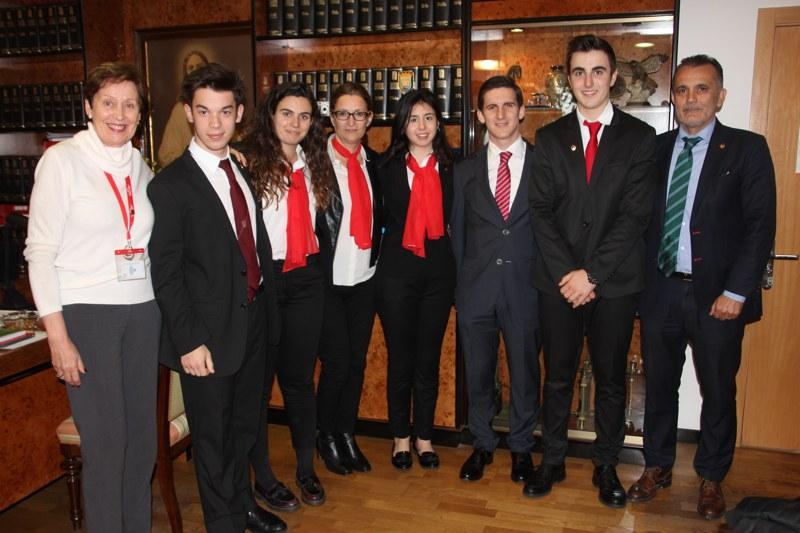 Liga de Debate Universitario en la Universidad de Nebrija