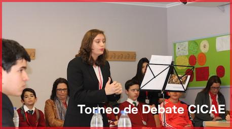 Celebración del Torneo de Debate CICAE en el Colegio Internacional Lope de Vega