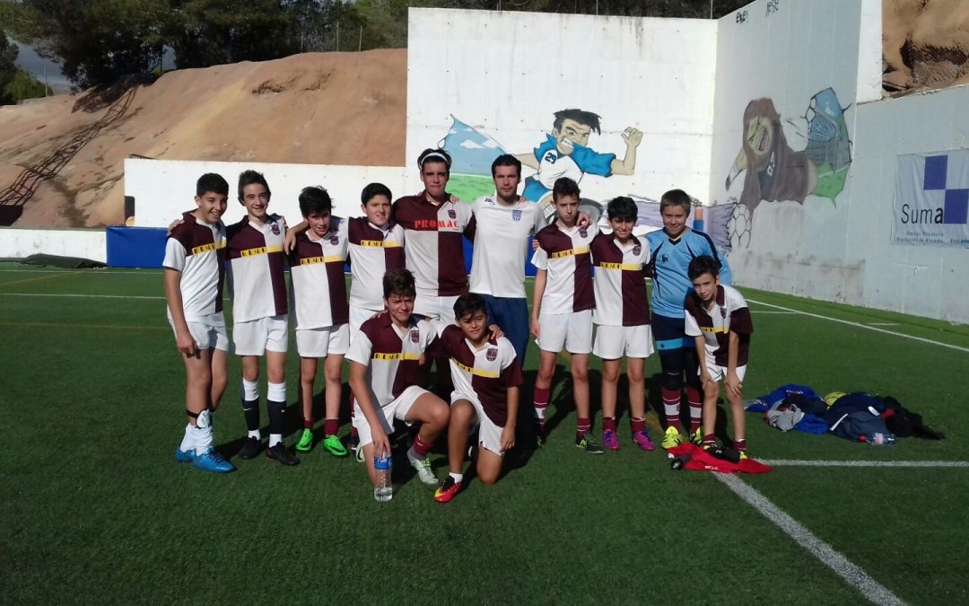Campeones de Fútbol en los Juegos Escolares