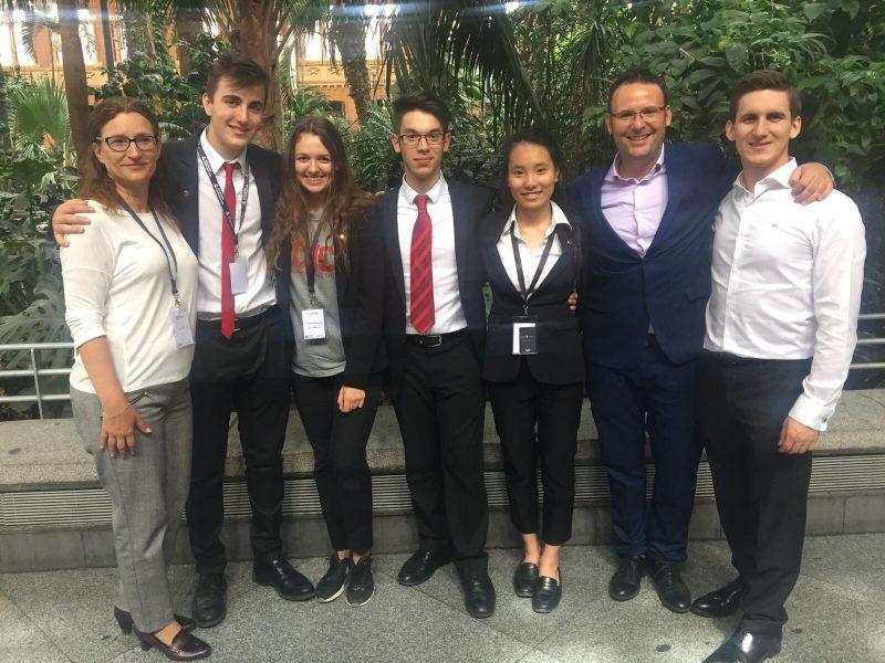 Integrantes de la Olimpiada Provincial de Matemáticas