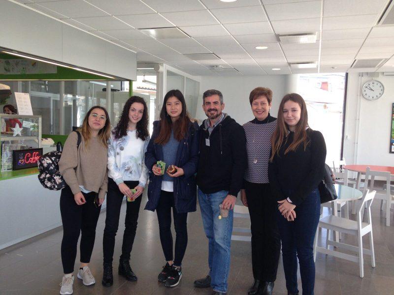 Integrantes del Equipo de Erasmus +
