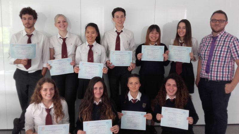 Nuestros alumnos obtienen los Diplomas B1 y B2 de Francés