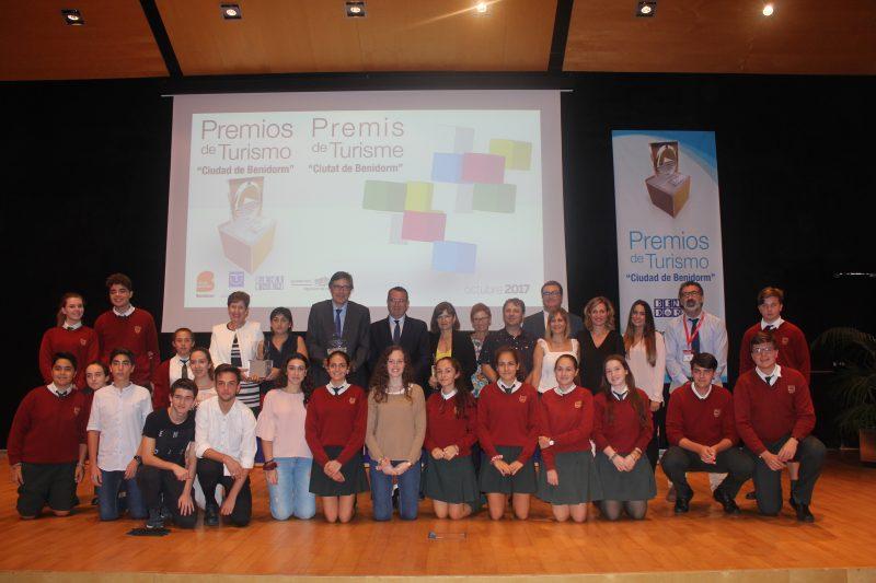 """El Ayuntamiento de Benidorm premia el Proyecto """"LdV: Por un Turismo de Emociones Jóvenes"""""""