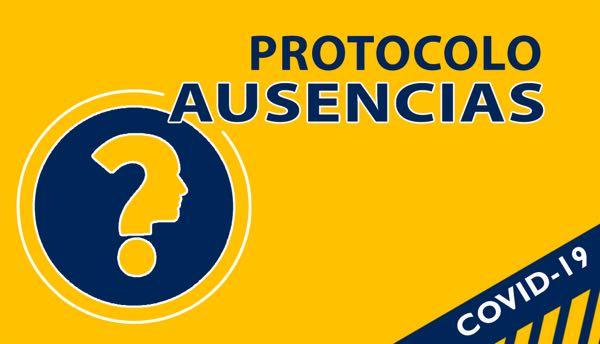 Protocolo COVID AUSENCIAS