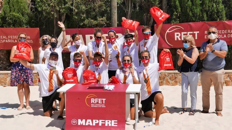 Final Ganadores Campeonato de España Tenis Playa