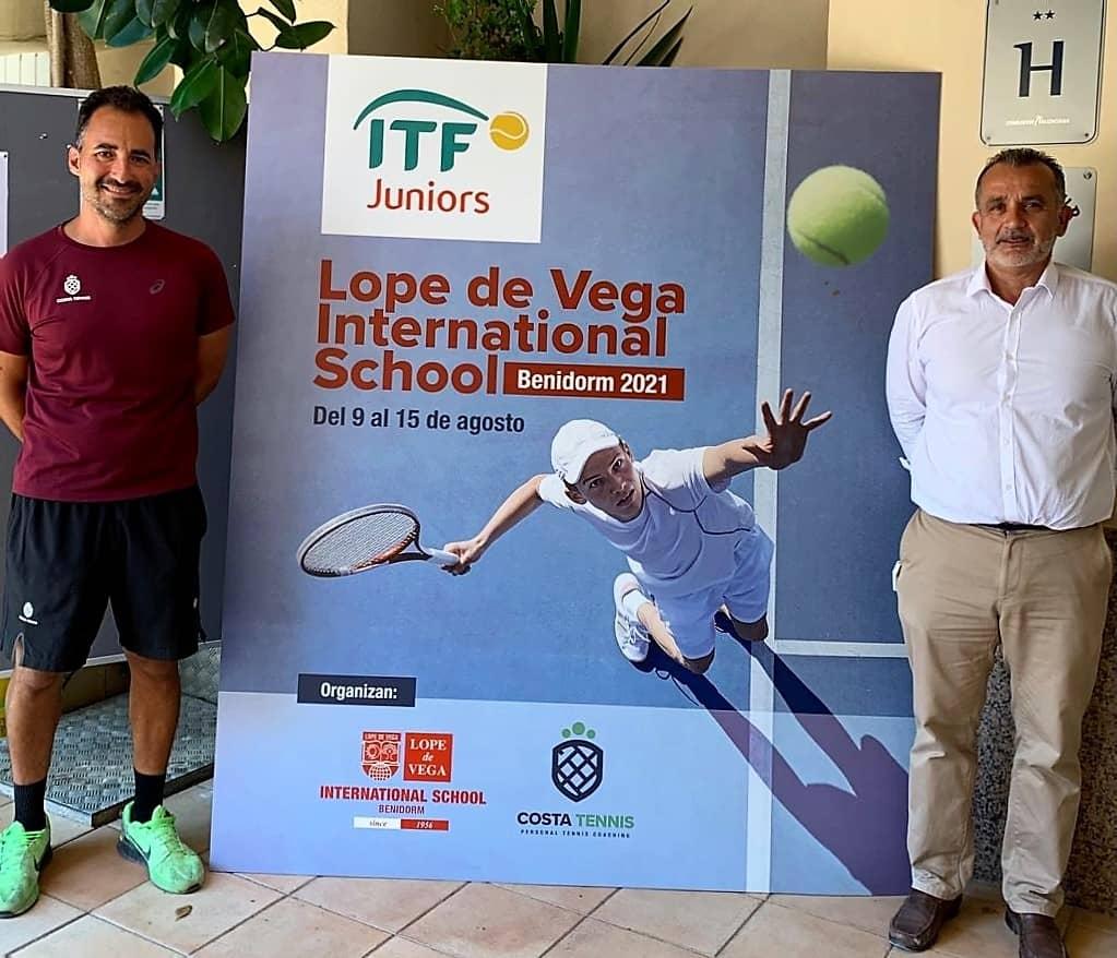 ITF Junior presentación Lope de Vega International School