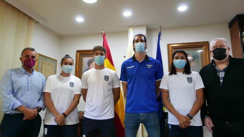 Balonmano convenio Colegio Internacional Lope de Vega